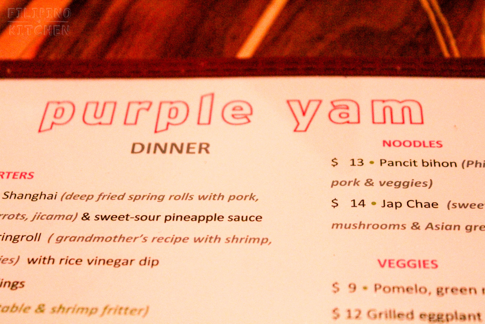 Purple Yam Brooklyn New York