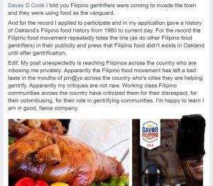 Anita de Asis Facebook Savor Filipino Oakland Gentrifying.jpg