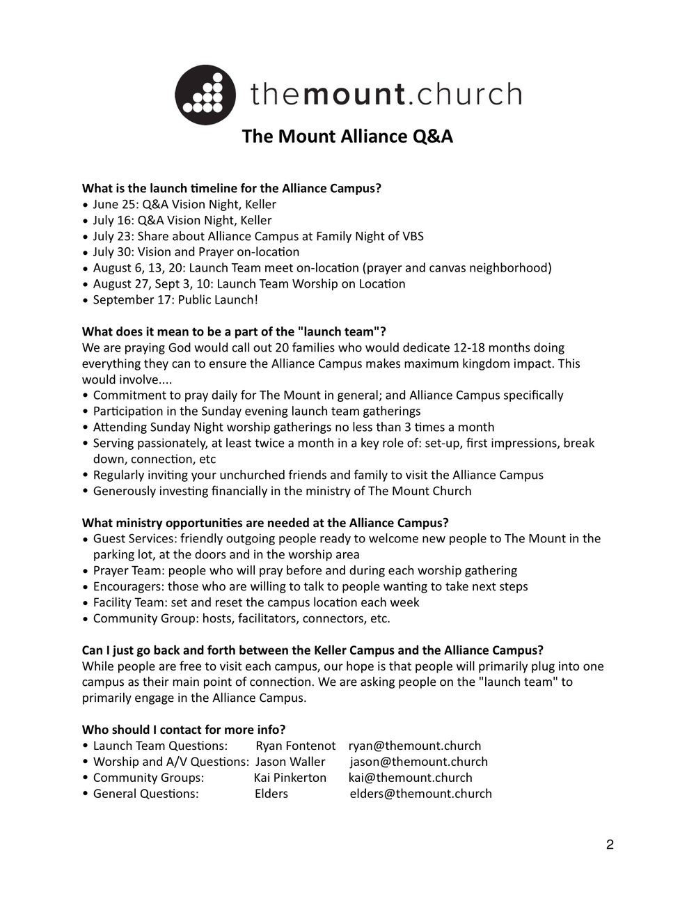 Alliance Q&A,pg 2 - CLICK IMAGE TO ENLARGE