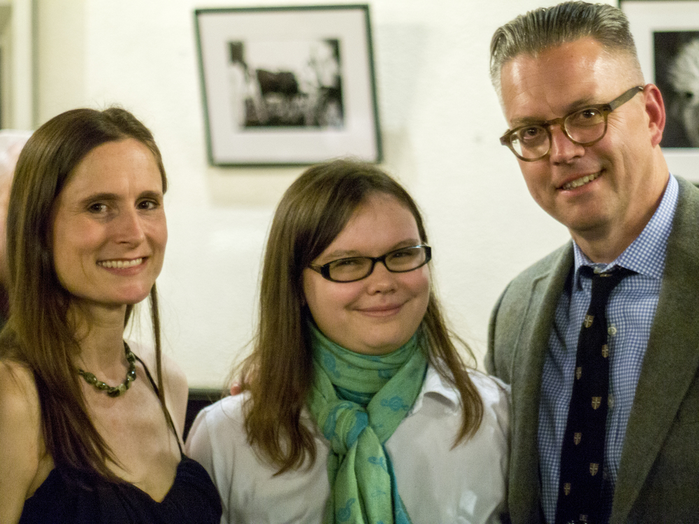 Jessica Cooper, Emily, and Bill Chapman
