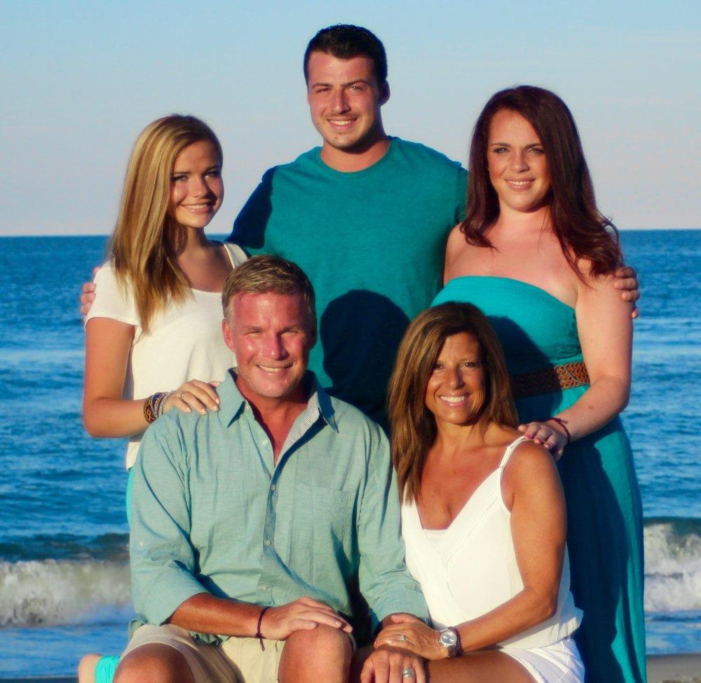 Brian & Michele  Jonathan, Ashley & Abigail