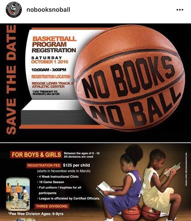 Starts October! @nobooksnoball