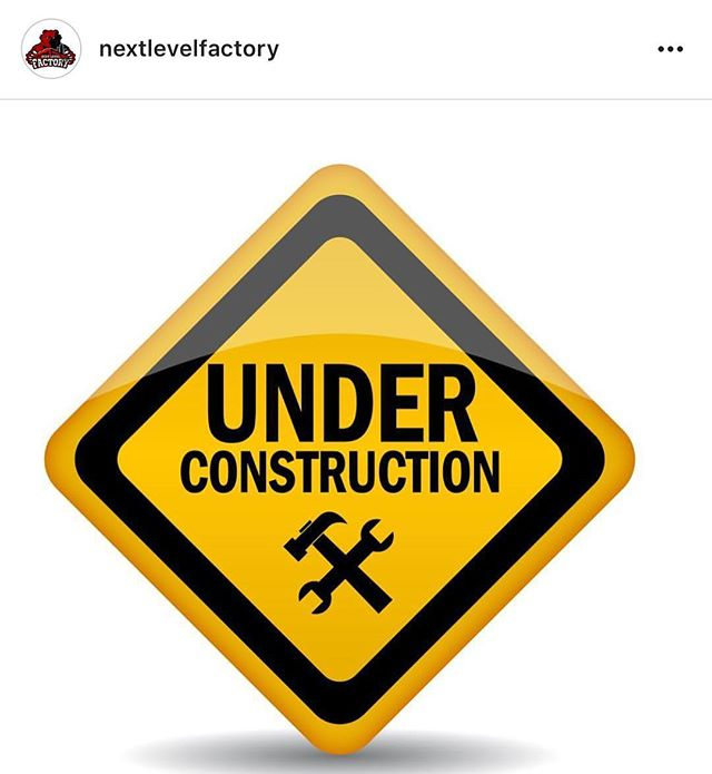 Our gym @nextlevelfactory will be closed until Sunday evening! All trainings cancelled until then. Sorry for the inconvenience. #TrustTheProcess
