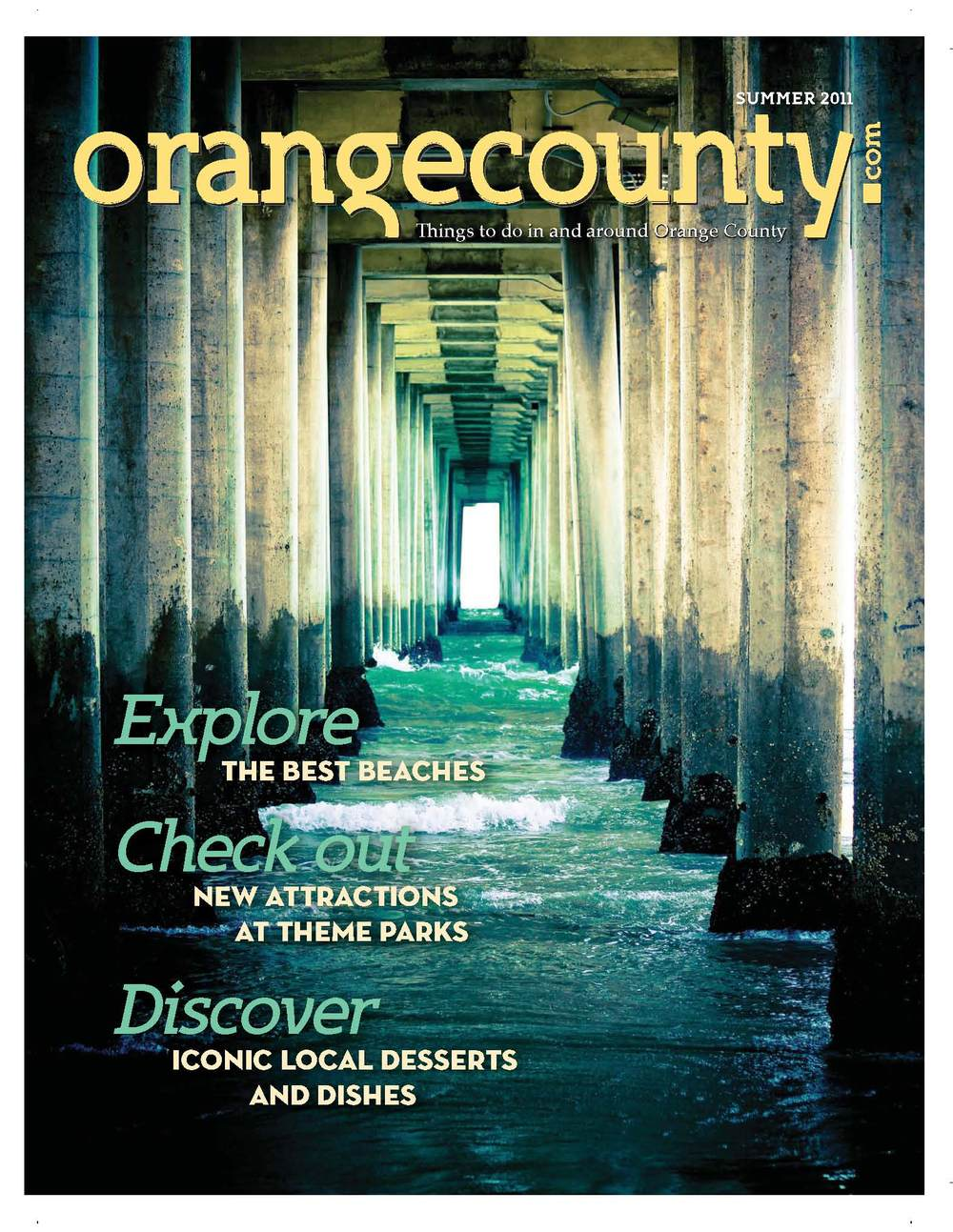 Cover of OC Magazine - June 2011 Issue