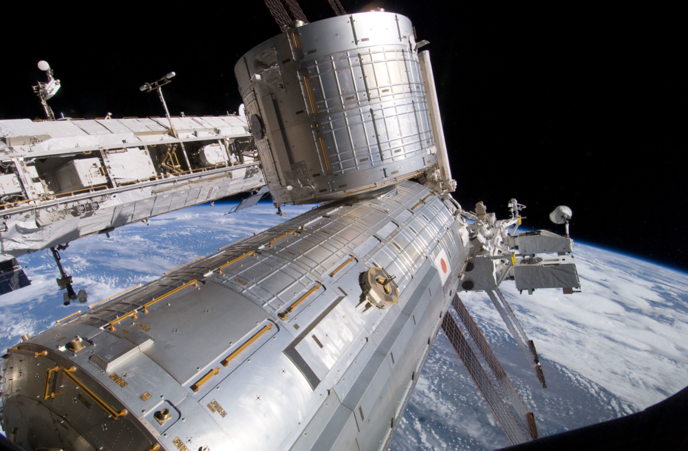 Kibo (also known as the Japanese Experiment Module) will serve as TangoLab-1's home on the station. Image Credit: NASA