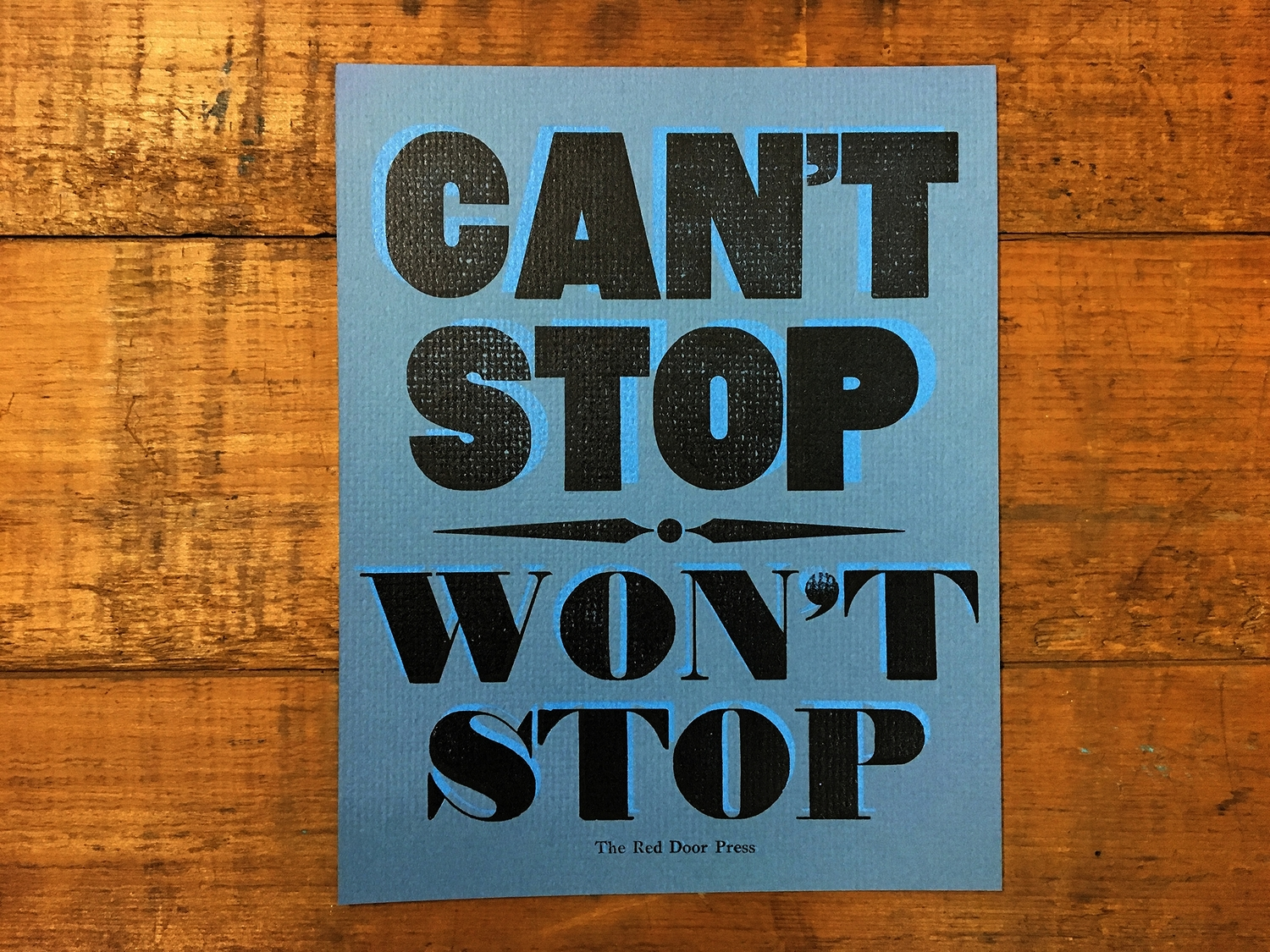 can t stop won t stop book
