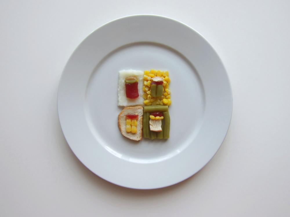 Thanksgiving special piatti ringraziamento Warhol food art