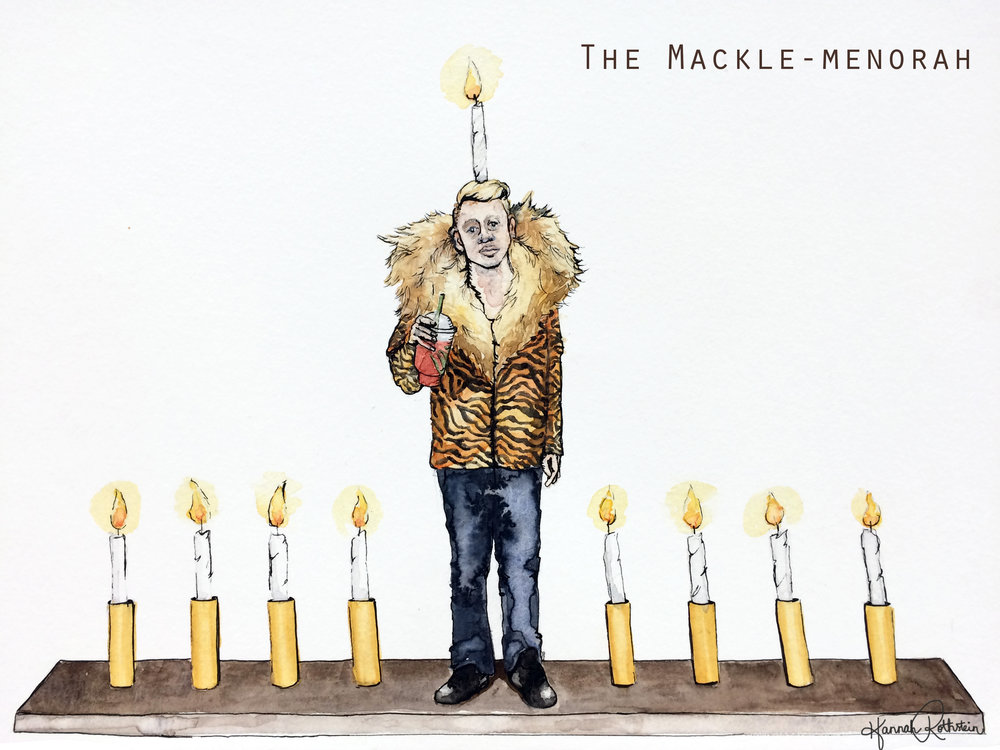 The Mackle-menorah