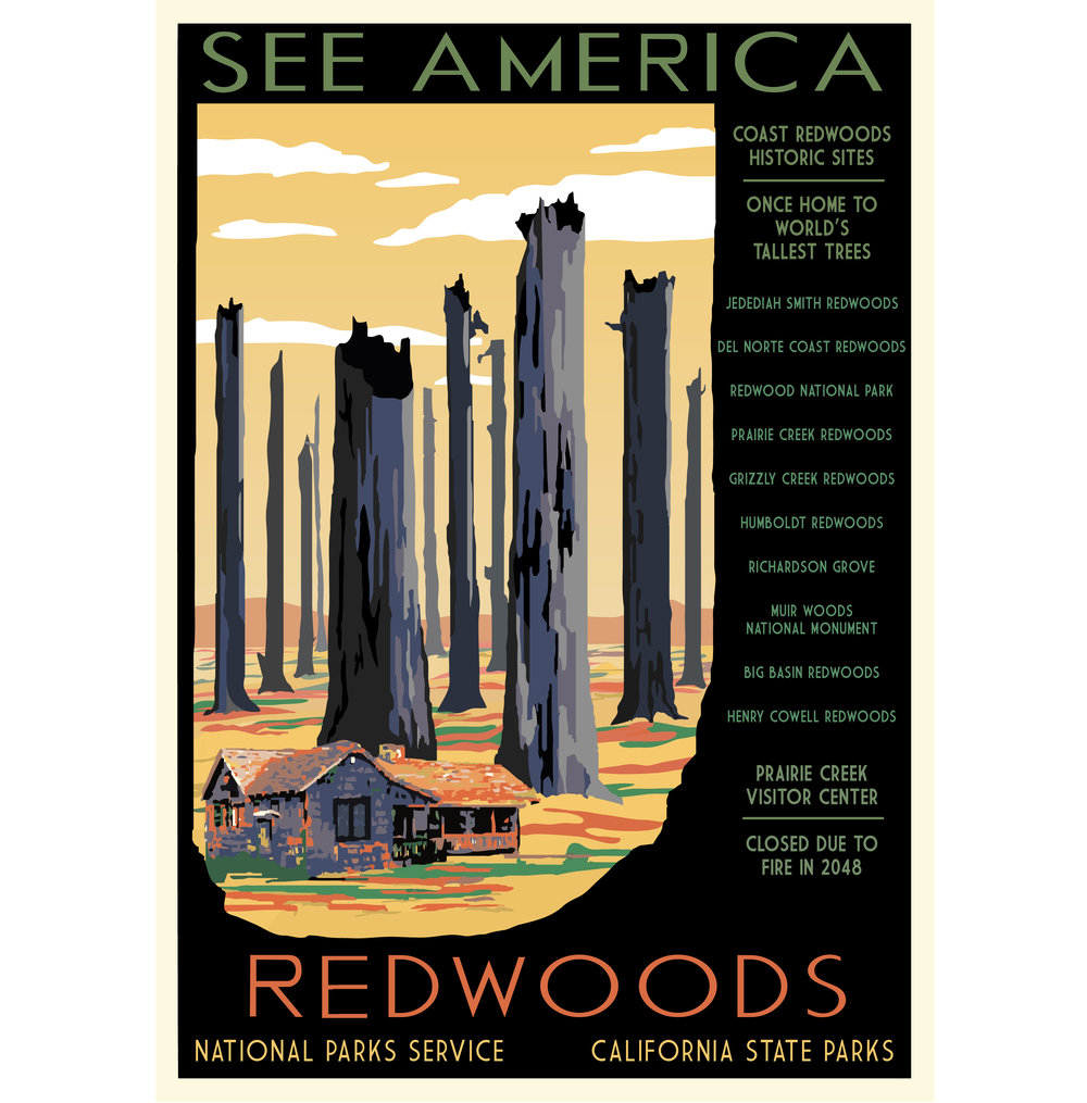 National Parks 2050: Redwoods