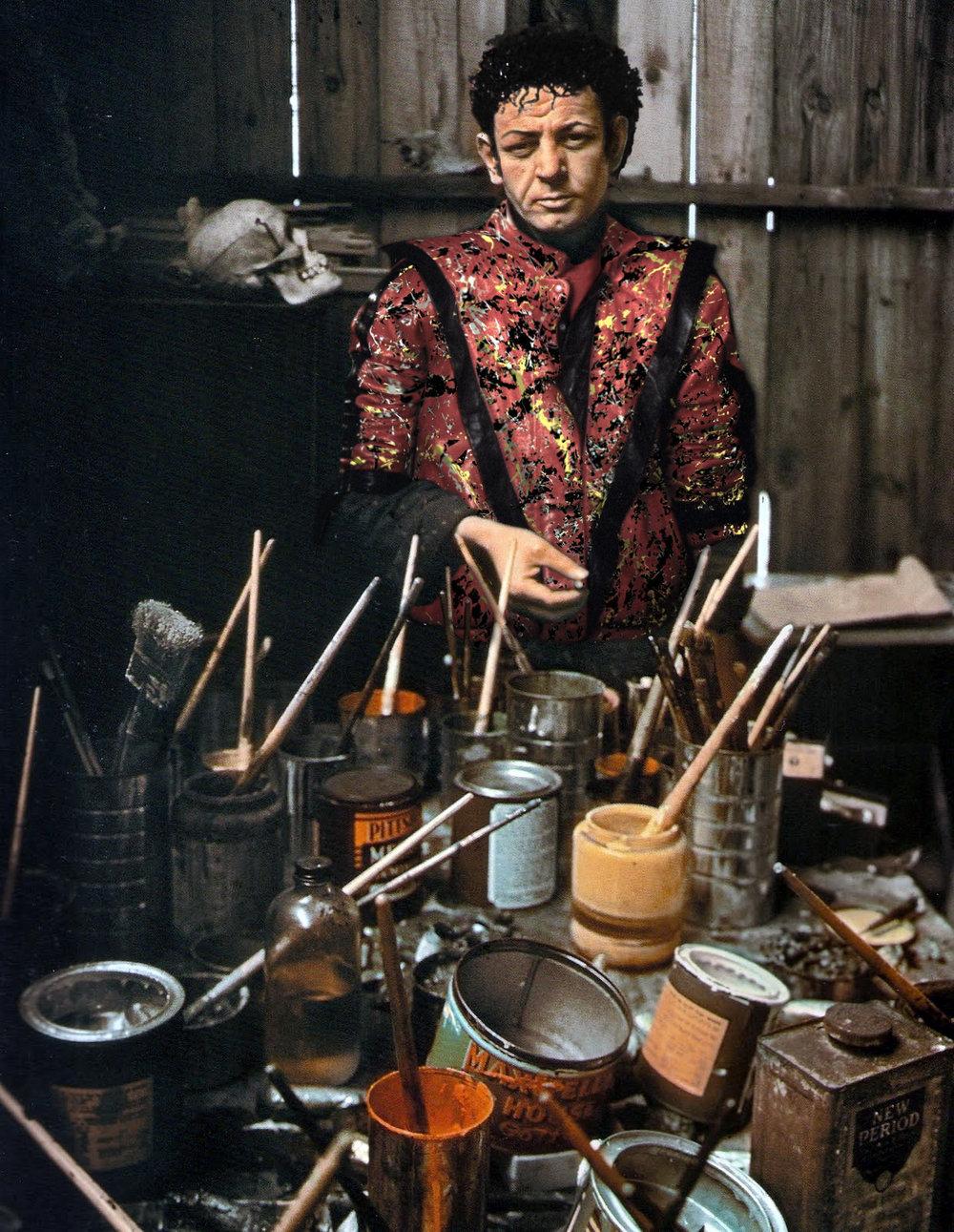 Michael Jackson Pollock