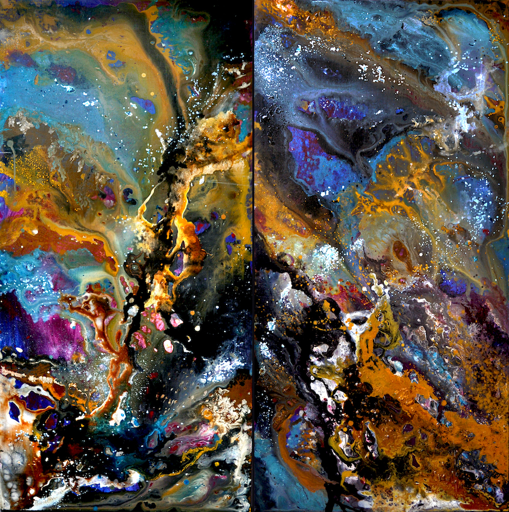 Cosmos Diptych