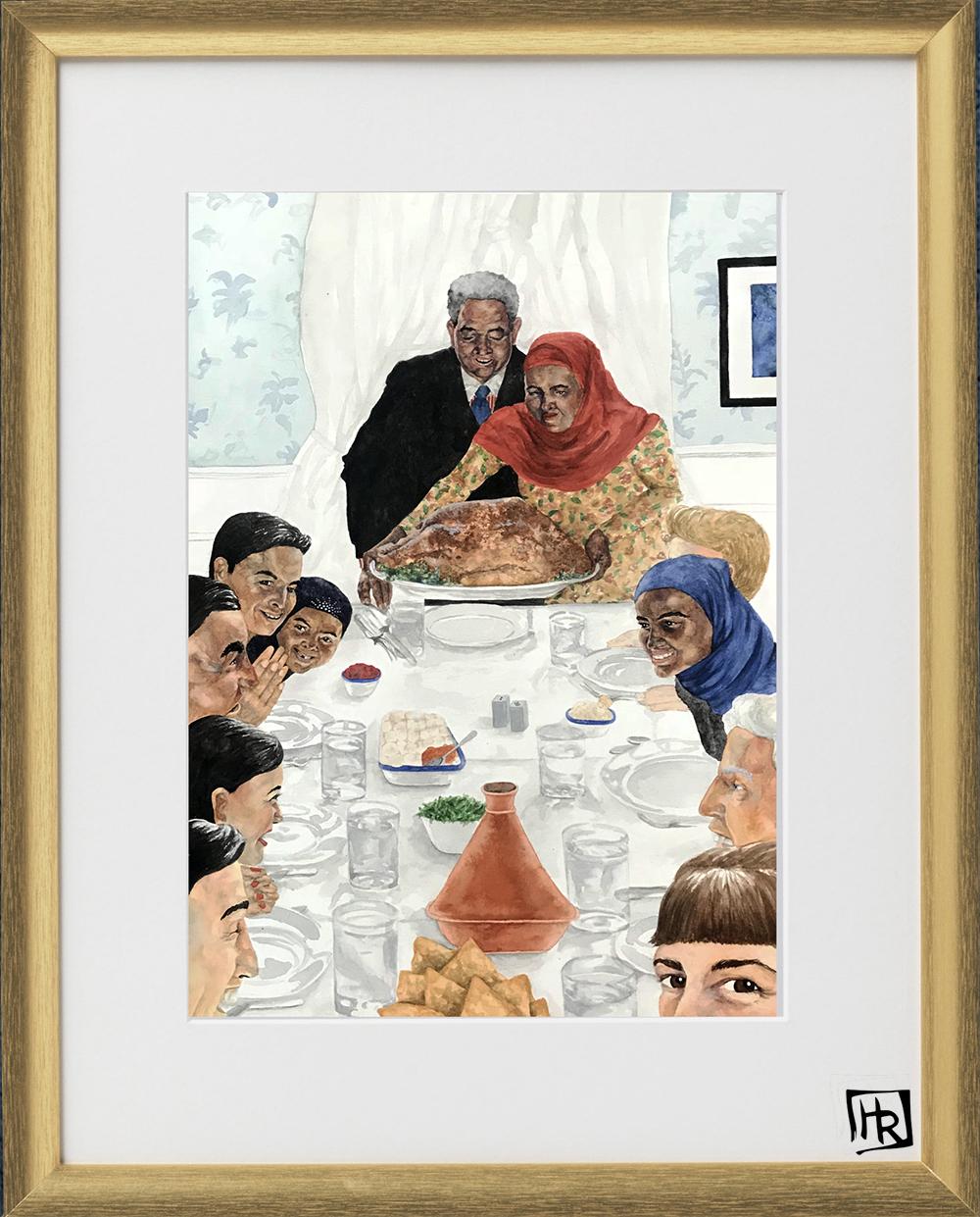 Immigrants Thanksgiving framed.jpg