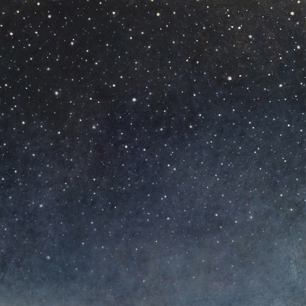 Night Sky in Paint