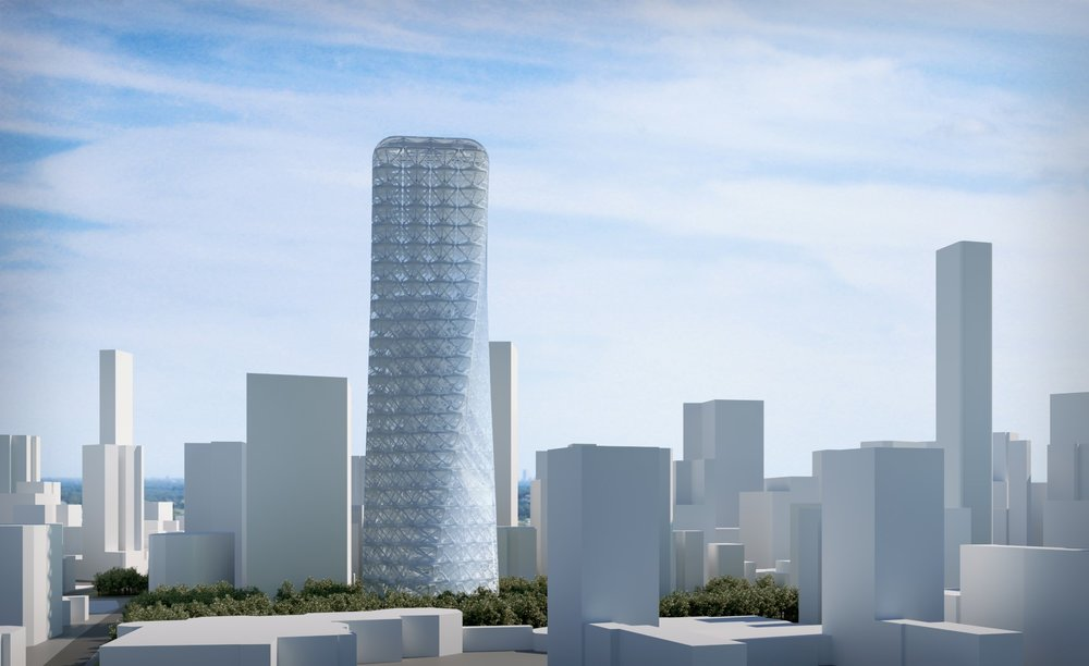 Rotating Tower -