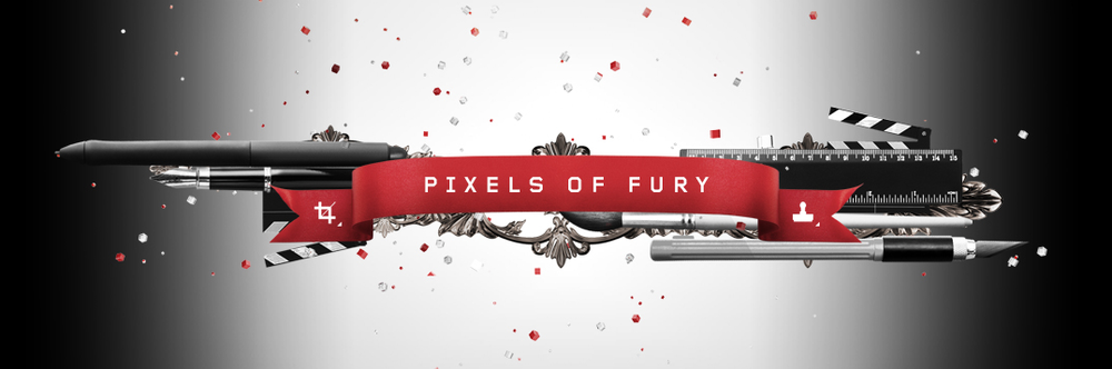 Winner of the 2014 Shutterstock Pixels of Fury Design Competition! Read about it on the   blog!
