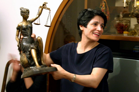 Nasrin Sotoudeh. Courtesy: PEN International.