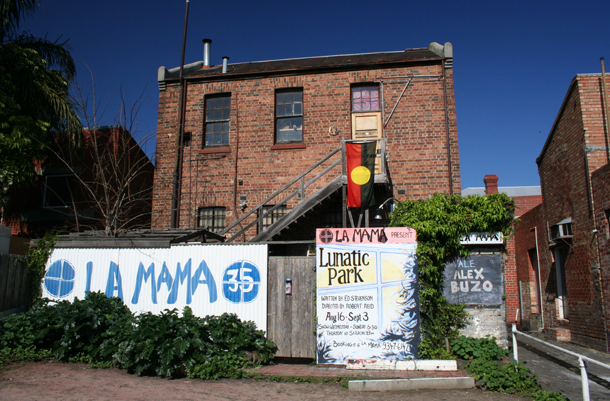 La Mama Theatre.