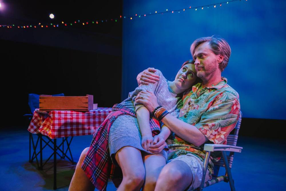 """NOMAD AMERICANA"" at WaterTower Theatre's Out of the Loop Fringe Festival - Photo Credit: Bob Oei"