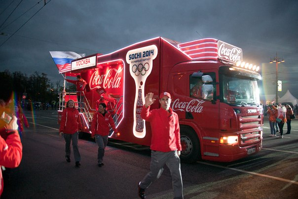 COCA-COLA SOCHI WINTER OLYMPICS 2014