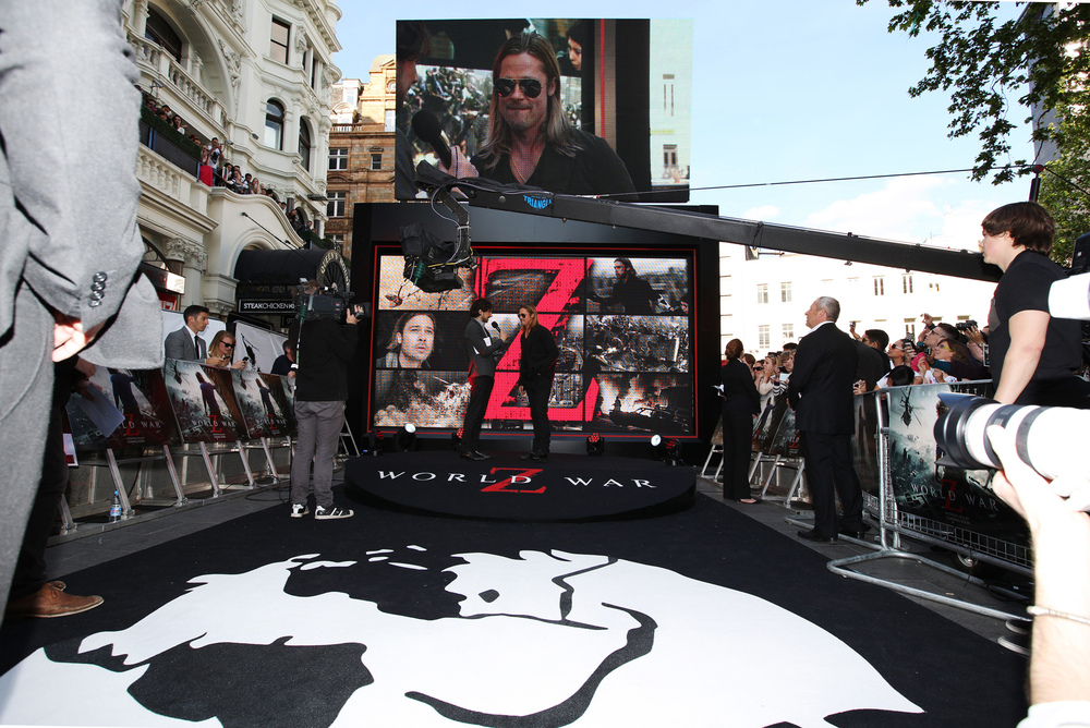 HEART Productions WWZ premiere london