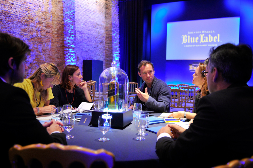 JOHNNIE WALKER BLUE LABEL 'A GENTLEMAN'S WAGER' HOSPITALITY