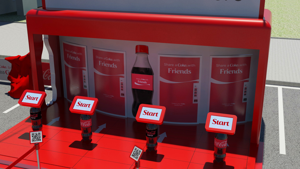 HEART Event Design share a coke london