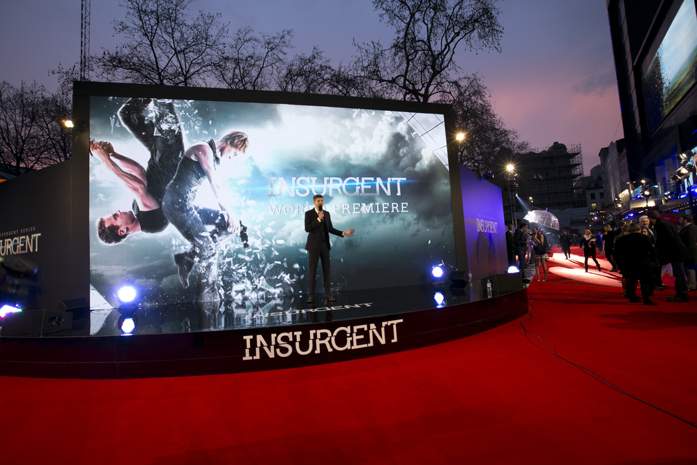 HEART Productions Insurgent premiere london