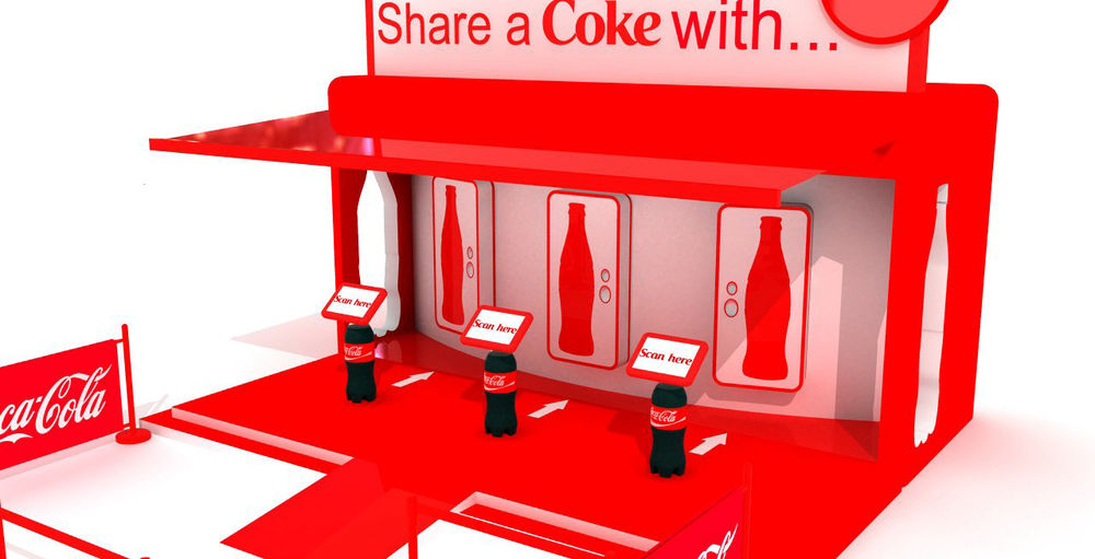 Share A Coke UK England HEART design
