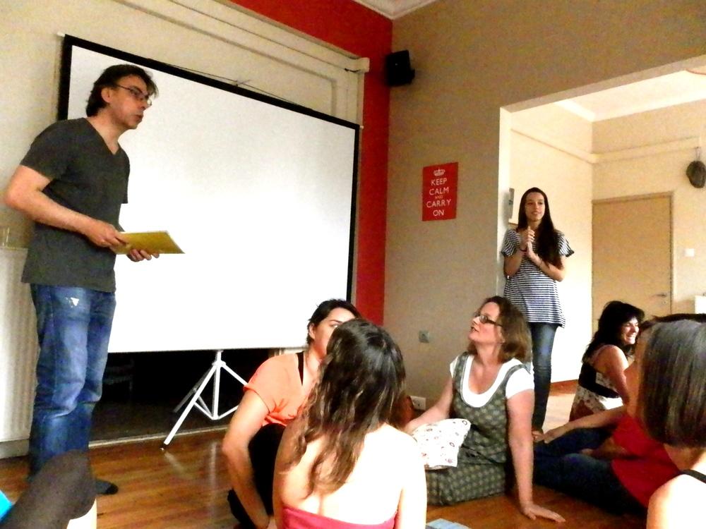 23.04.13 -  Συνέντευξη στο Gnosis Network for Education εν όψει του σεμιναρίου ενηλίκων  « Το Παιχνίδι στη Μαθησιακή Διαδικασία » |  www.gnosisnet.org