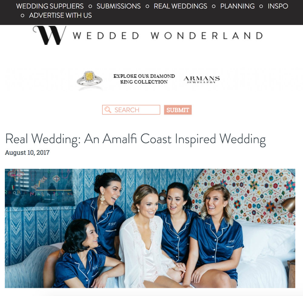 Moments by Frankie Brisbane Wedding Photographer featured in Wedded Wonderland