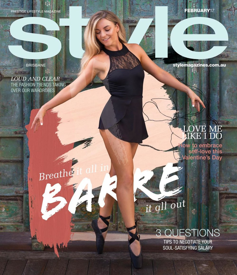 Brisbane Editorial Photographer Moments by Frankie featured in Style Magazine