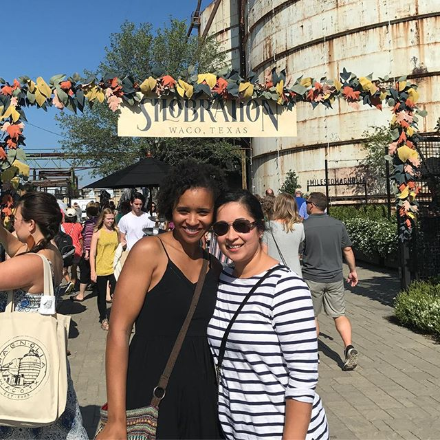 Silobration with my Val Pal!!! We didn't get to see @johnnyswim this time. Sigh! #silobration #magnoliamarketsilos