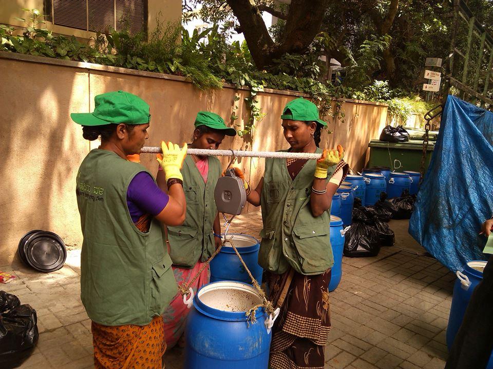Members from Hasirudala, a Bangalore based cooperative.