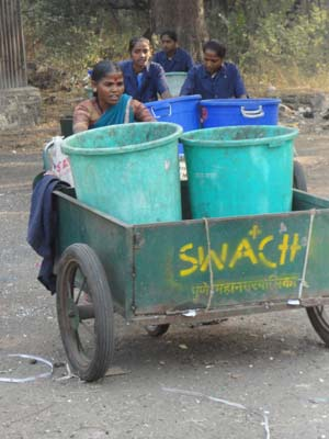 Members of SWaCH, a Pune based cooperative.