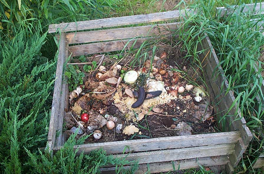 Simple DIY composter made using pallet wood. image source:   http://www.farmnwt.com/sites/default/files/compost.jpg