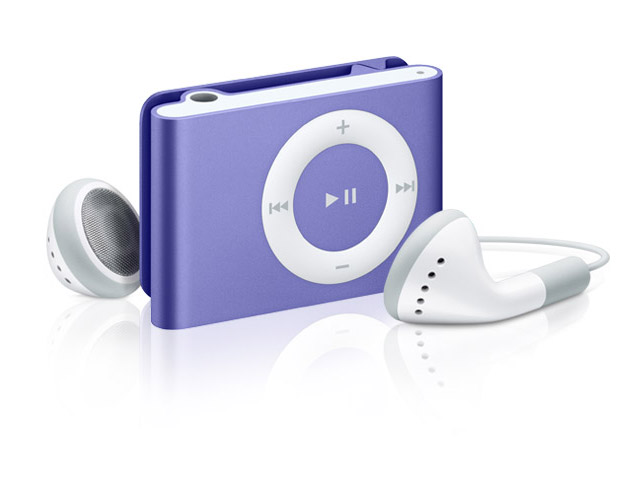 The iPod shuffle by Apple Inc. comes with a clip, making it convenient to use while working out. Not only does it solve a problem, it also looks attractive.