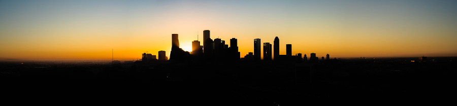 October Houston Sunrise in Houston