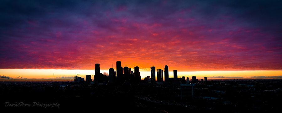 Houston Purple Sunrise