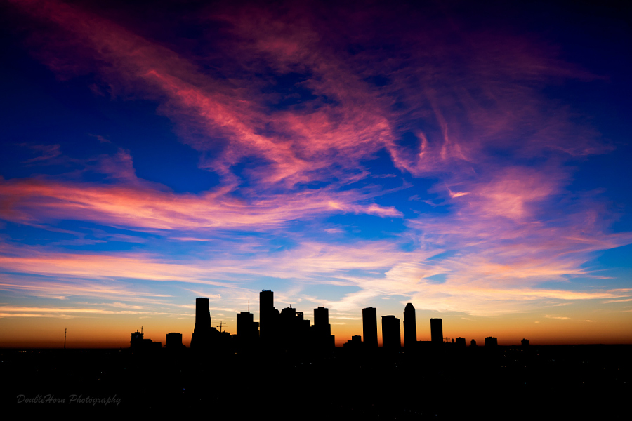 Houston Wispy Sunrise