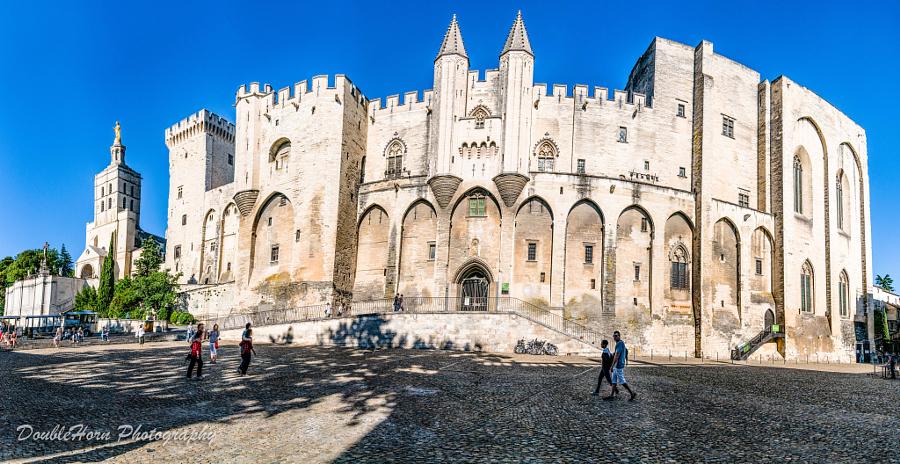 Avignon - Palais des Papes Panorama