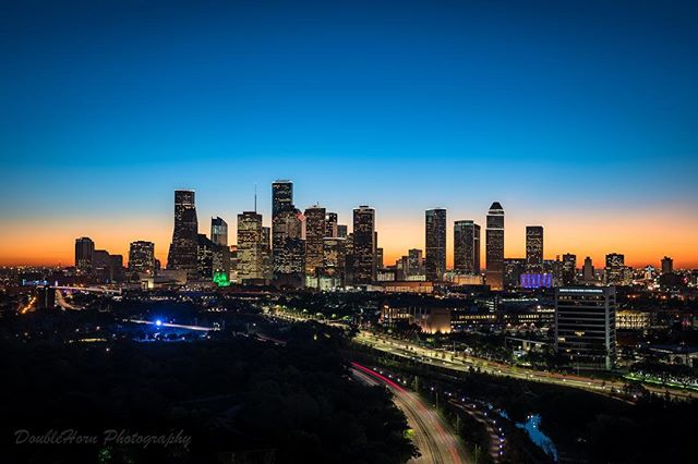 Here's your morning sunrise photo - Happy December Houston!