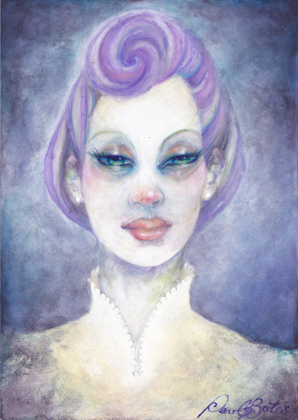 Purple Donna