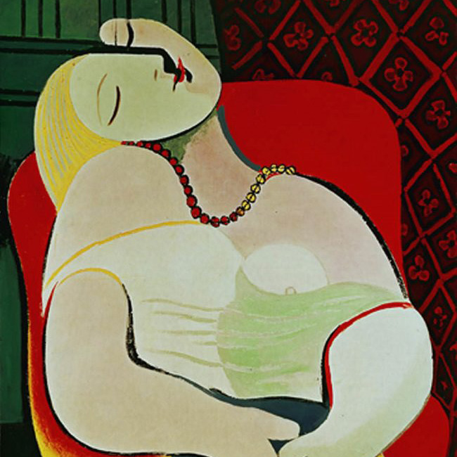 'Le Rêve' ( The   Dream ), Pablo Picasso
