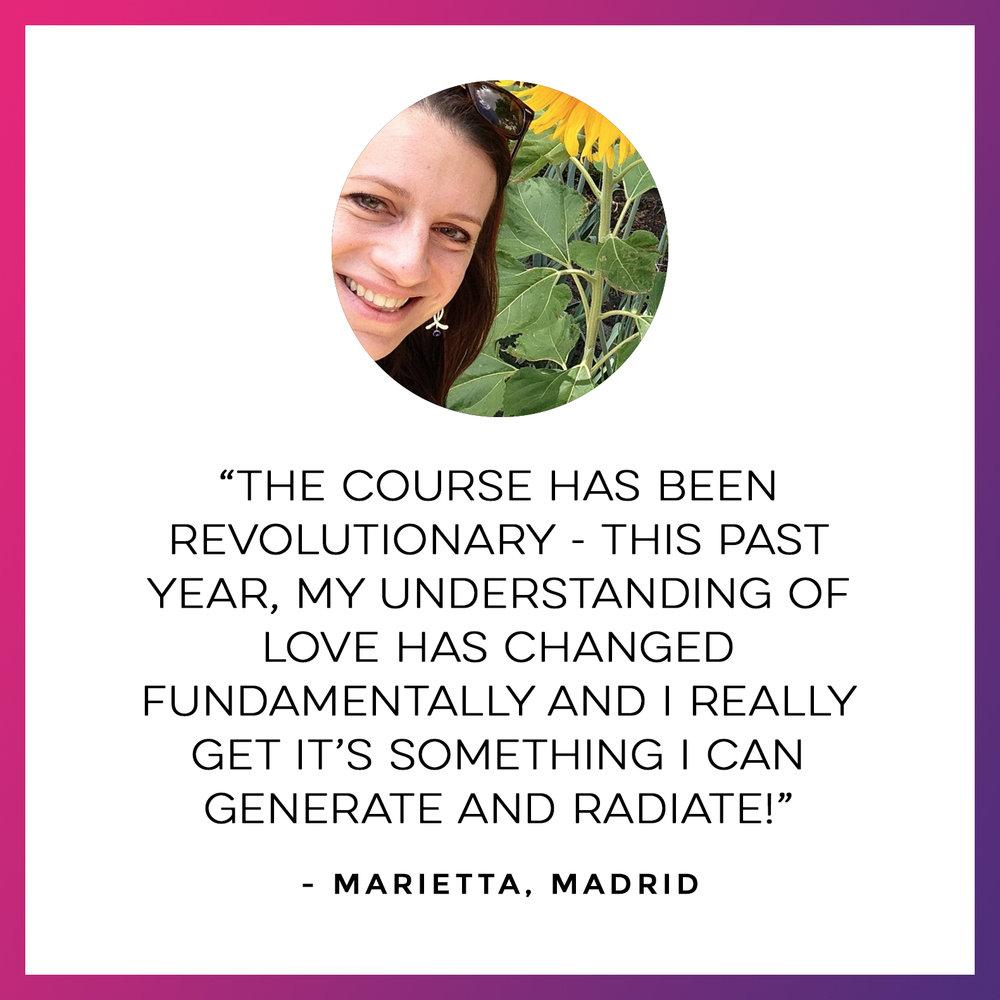 Marietta Testimonial
