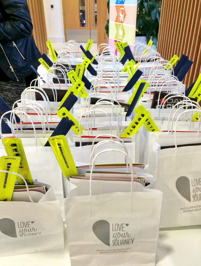 Goody bags for #Bondholders, courtesy of those keeping #Derby moving @DerbyConnected