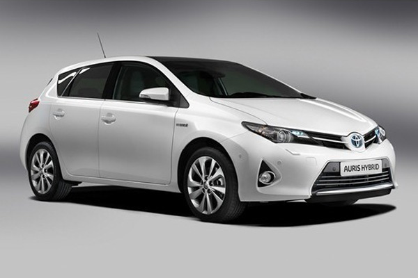 Toyota's Auris Hybrid model, built at its Burnaston site.