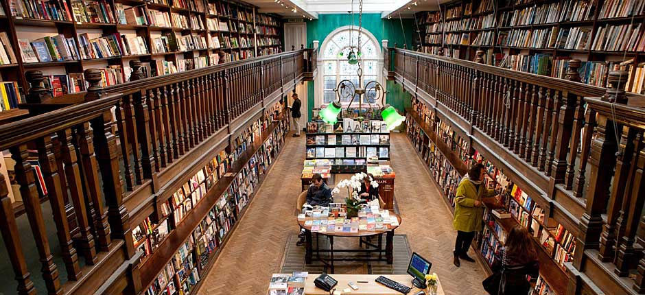 Daunt Books London Kitapci on Dc Ics City Map