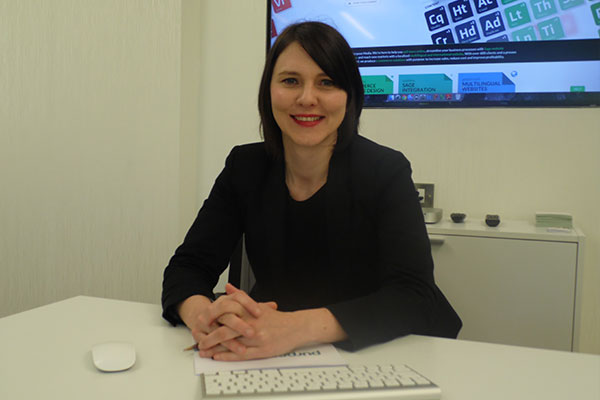 Purpose Media's new account manager, Jenny McBride.