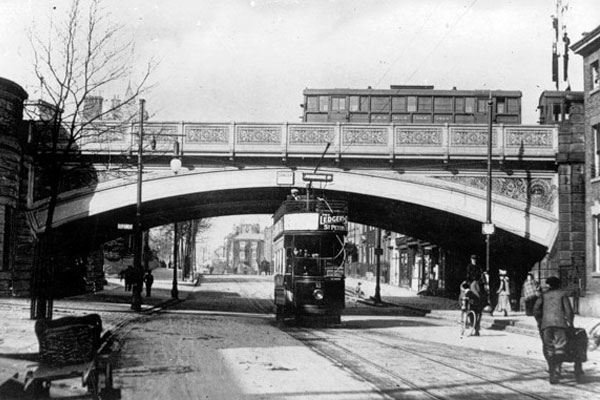 Friar Gate Bridge in 1905.