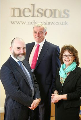 From left to right: Ian Griffiths, Tim Hastings and Julie Marson